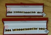 Silver And Gold Plated 18k Bracelets New