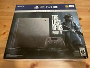 New Sony Playstation 4 Pro The Last Of Us Part 2 Console Limited Edition Ps4 1tb