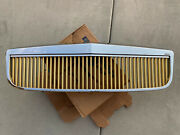 2000-2005 Cadillac Deville Eandg Classics Chrome And Gold Grill Grille Assembly