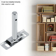 10 X Concealed Metal Brackets Hidden Floating Wall Mounted Shelf Support Durable