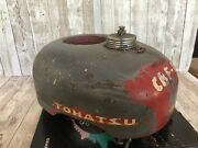 Vintage 1960s Tohatsu Outboard Boat Motor Cover Cowling Antique Boat Gas Tank