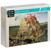 New Puzzle Michèle Wilson The Tower Of Babel By Bruegel 250pce