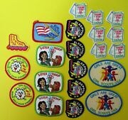 21 New Girl Scout Fun Patches Sleepover, Thank You, Sister Troop, Girls Great