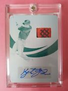 2019 Immaculate Batting Stance Autograph/relic Printing Plate Kyle Tucker Rc 1/1