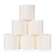 Wellmet Small Lamp Shade,only For Candle Bulbs,clip-on Drum Lamp Shades,set Of