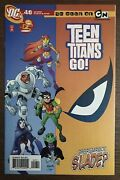 Teen Titans Go 49 First Printing 2008 Dc Comic Book Deathstroke