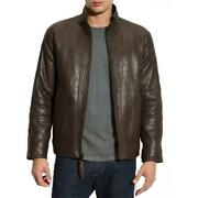 Marc New York By Andrew Marc Menand039s Zip Front Leather Jacket
