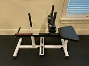 Body Solid Seated Calf Raise With 160 Lbs Of Weight Plates