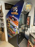 1999 Midway Cruisin Exotica Standup Driving Arcade Game Working Game