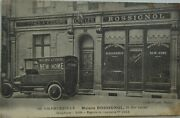 Charleville 08 Cpa Home Rossignol 13 Street Carnot Cycle Machine Sewing Truck