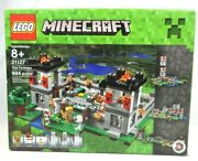 Lego Minecraft Set 21127 The Fortress New In Slightly Damaged Box Free Shipping