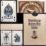 Historic Steamship Antique Poker Playing Cards Twin Joker Deck And Blacked Out Ace