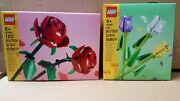 Lego Miscellaneous Roses 40460 + Tulips Flowers 40461