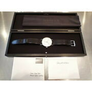 Nomos Tango Mat Tn1e1w2 Small Seconds White Dial Automatic Menand039s Watch Ex++