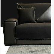 Soid Sofa Cover Home Couch Towel Ventilation Especially Suit For Leather Item