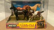 New Breyer The Saddle Club No.5500 Stablemates - 4 Horses