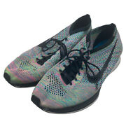Nike Flyknit Racer 2.0 Multi Color Running Shoes Menandrsquos Size 11.5