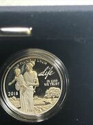 2018-w Platinum American Eagle 100 Proof - Preamble To Independence - Life