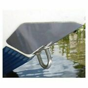 Ss Marine Bowshield Bow Guard Medium 7.5x9 Stainless Steel Boat-trailer Roll
