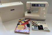 New Home Janome Memory Craft 8000 Sewing Machine Case Pedal Power Manual Extras