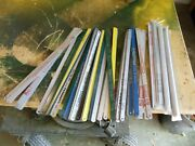 Qty 120 Unused Hacksaw Blades Morse, Millers Falls + Others. 18t And 24t 12 L
