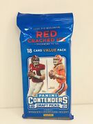 2021 Panini Contenders Draft Picks Football Value Fat Cello Pack 18 Cards