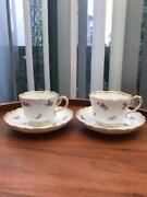 Meissen Forget-me-not Thy Blossom Scattering Stacad Flower Vienna Kante 1st