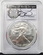 2020-w Burnished Silver Eagle 1 Coin Pcgs Sp70 Fdoi Signed By T.cleveland Fh