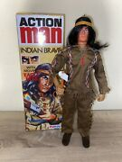 Action Man 40th Anniversary Indian Brave Palitoy 12 Inch Eagle Eye Action Figure