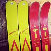 Apco Laminated Rider Wooden Wood Water Skis Atlantic/pacific Manufacturing Co Ny