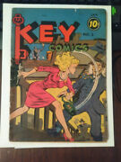 Key Comics Vol. No.1  1944 Consolidated Magazines Extremely Rare Book G
