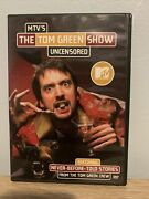 The Tom Green Show Uncensored Dvd, 2000 Rare, Vg And Complete Mtv, Canada
