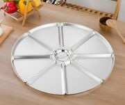 Combination Platter Household Round Cover Food Plates Fan Shaped Tableware Sets