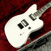 Fender Mexico Jim Root Jazzmaster V4 Flat White Electric Guitar