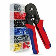 Ferrules Crimping Tool Kit Wire Crimper Tool Kit 1200pcs Brass Wire