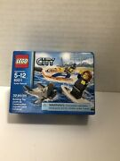 Lego City 60011 Surfer Rescue New Factory Sealed Retired Nisb Free Shipping