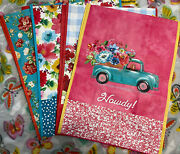 Pioneer Woman Reusable Shopping Bags - Set Of 4