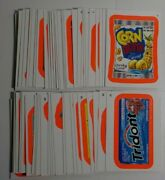 2012 Wacky Packages All New Series 9 Ans9 Complete Pink Border Set 55/55