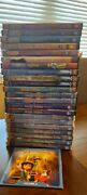 Christian Lot Of 23 Dvds Superbook, Nest, Veggietales, And Animated Music Video +