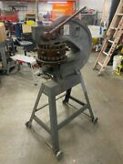 Rotex Model 18a Hand Turret Punch With Shear