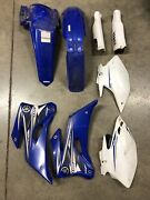 Yamaha 07-13 Wr250f Wr 250f Front Rear Fenders Side Fork Covers Fairing Cowl Oem
