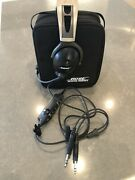 Bose X Aviation Headset Dual Ga Plugs Brand New Ear Pads Excellent Condition