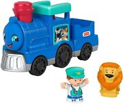 Fisher-price Little People Animal Train, Push-along Musical Kids Toy Gky47 New