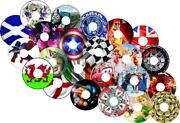 Wheelchair Spoke Guards And Stickers Protector Any Designs 0002