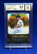 Jameson Taillon 2010 Bowman Sterling Gold Refractor Auto /50 Bgs 9.5 Gem Yankees