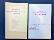 First Edition First Issue The Complete Uncollected Stories Of J.d. Salinger