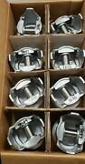 Tc1544 - Set Of Nos Perfect Circle Pistons Matched And Balanced .030 Corvette 283