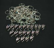 Wholesale 111pc 925 Sold Sterling Silver Black Ethiopan Opal Ring Lot 1 Y321
