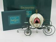 Wdcc Enchanted Places An Elegant Coach For Cinderella In Box With Coa - Read