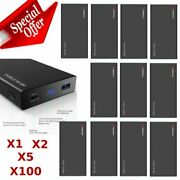 Lot Pd 20000mah Power Bank Type-c Fast Charger Cell Phone External Battery Usa